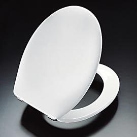 PRESSALIT Scandinavia WC-Sitz mit Deckel, Sitzring mit Vollprofil, D43 Univertikalscharnier, weiss
