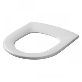 PRESSALIT Projecta D WC-Sitz ohne Deckel, DC7 Spezialscharnier mit durchgehender Scharnierwelle, weiss polygiene
