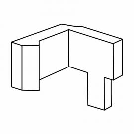 Roth Exklusiv Ersatzteil Klemmbügel rechts für Falttür
