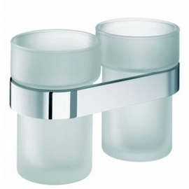 sam way Doppelglashalter ohne Gläser, chrom