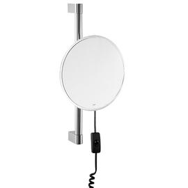 sam miro Kosmetikspiegel LED beleuchtet mit Wandstange way 7-fach chrom