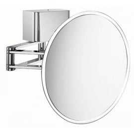 sam miro Kosmetikspiegel LED Gelenkarm mit Direktanschluss dimmbar, 2,5-fach