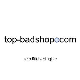 V&B LuXXus Quaryl-Eck-Badewanne 1450x1450 mm, weiss, Schürze in Teakfurnier