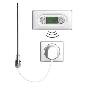 BAGNOTHERM Elektroheizeinsatz WFC Funklösung Comfort mit Funkregler und Wandauslass-Empfänger 150 Watt, weiss