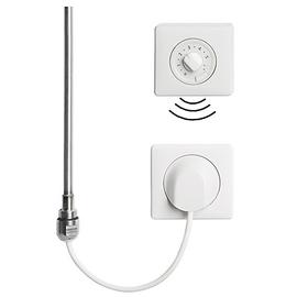 BAGNOTHERM Elektroheizeinsatz WFS Funklösung Standard mit Funkregler und Wandauslass-Empfänger 150 Watt, weiss