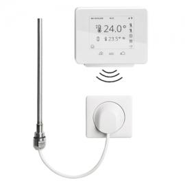 BAGNOTHERM Elektroheizeinsatz WRX Funklösung Comfort mit Funkregler und Wandauslass-Empfänger 150 Watt, weiss
