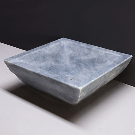Forzalaqua Siracusa Marmor matt-poliert 40x40x15cm