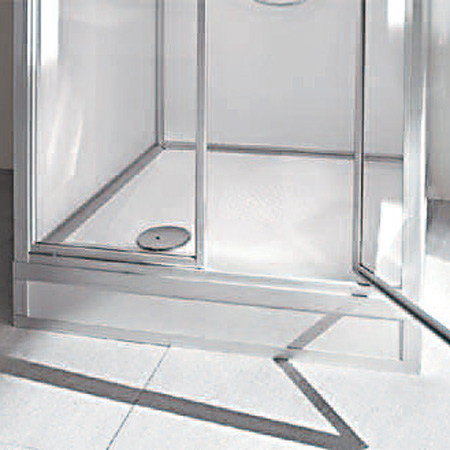 top badshop roth exklusiv dusche unterteil 845 x 845 mm mit niedrigem einstieg 180 mm f r. Black Bedroom Furniture Sets. Home Design Ideas